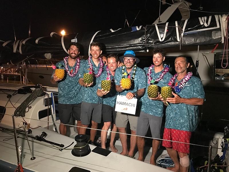 Hamachi race celebrations