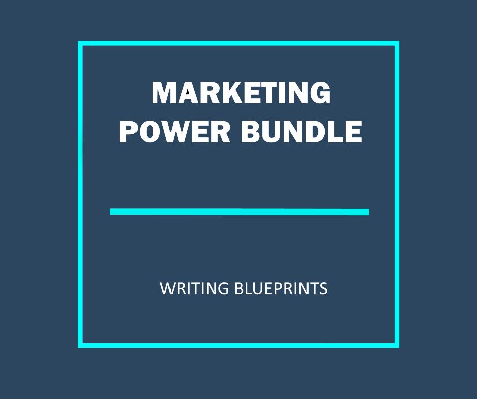 Marketing power bundle writing blueprints malvernweather Gallery