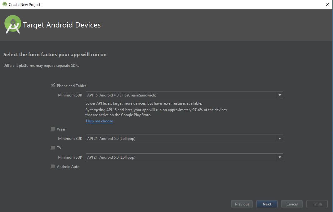 installing Android Studio