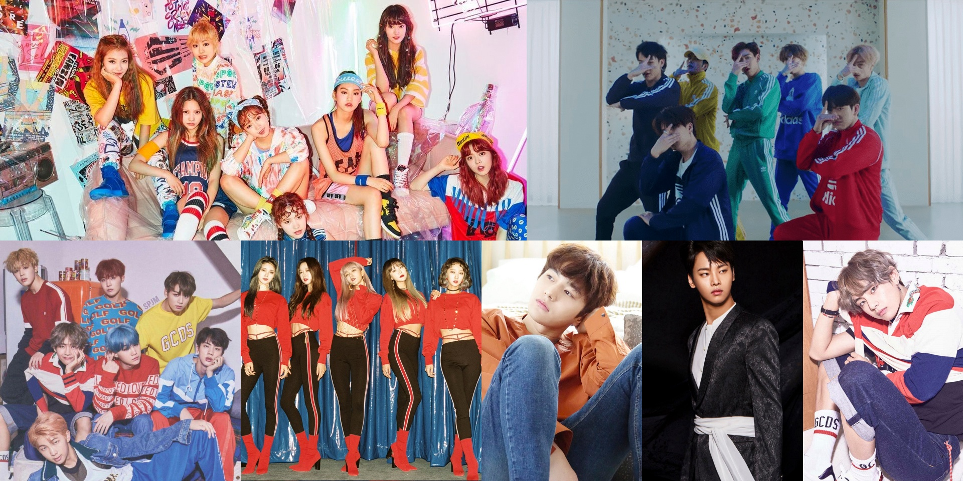 A guide to the best artist names in K-Pop