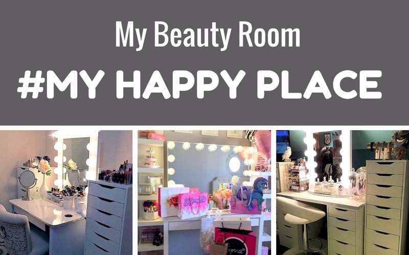 My Beauty Room Is #MYHAPPYPLACE