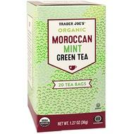 Organic Moroccan Mint Green Tea from Trader Joe's