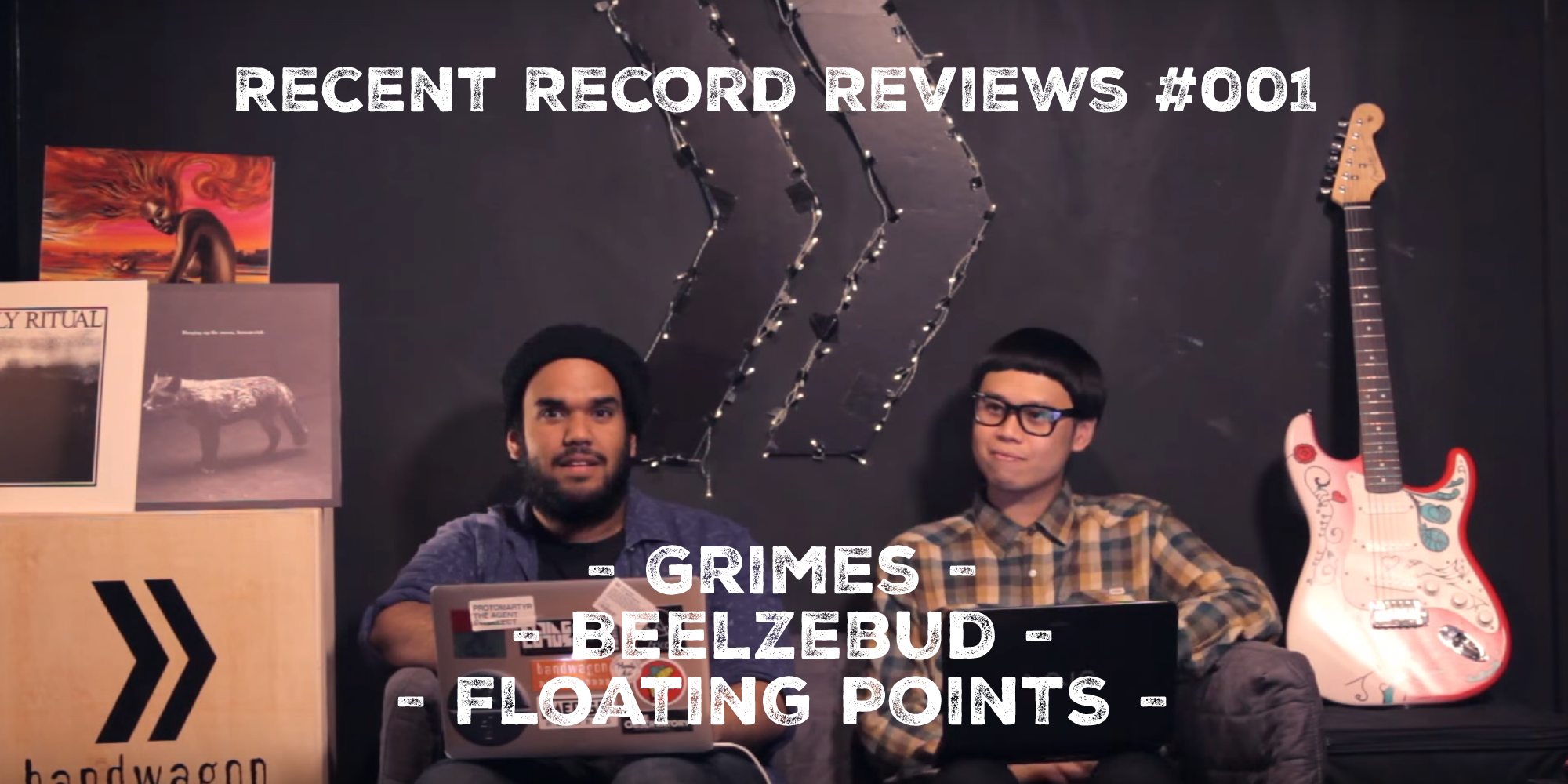 WATCH: Bandwagon Recent Record Reviews #001 - Grimes, Beelzebud, Floating Points