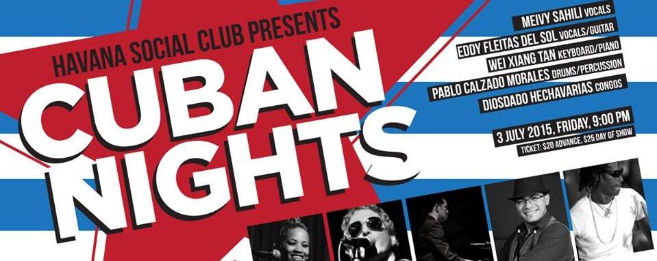 HAVANA SOCIAL CLUB: CUBAN NIGHTS