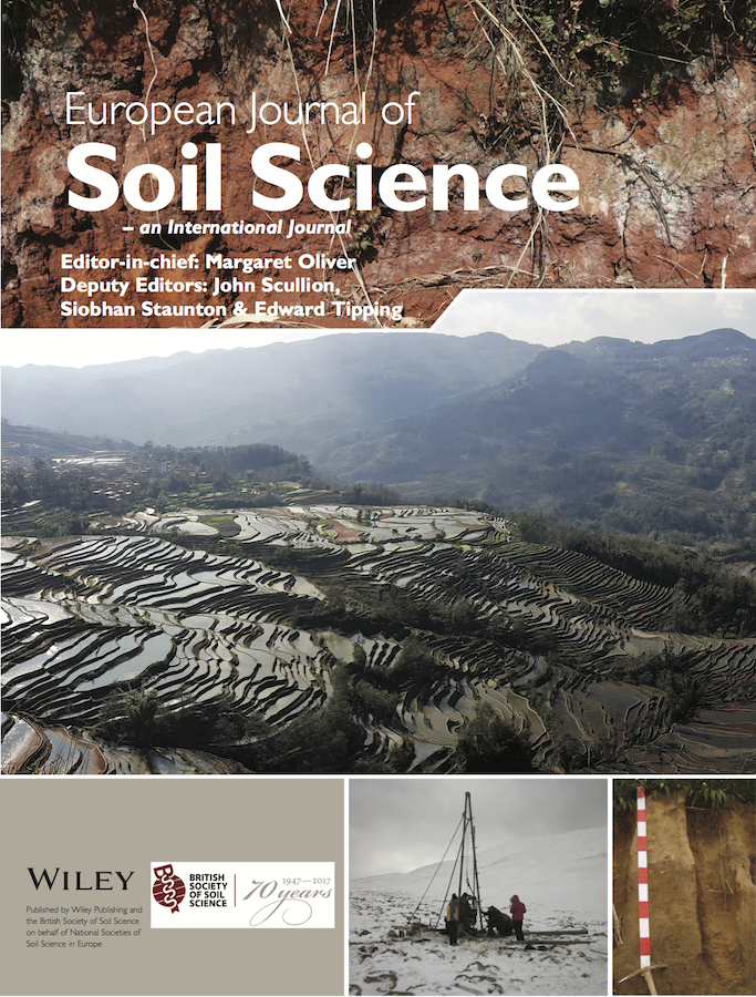 Template for submissions to European Journal of Soil Science (EJSS)
