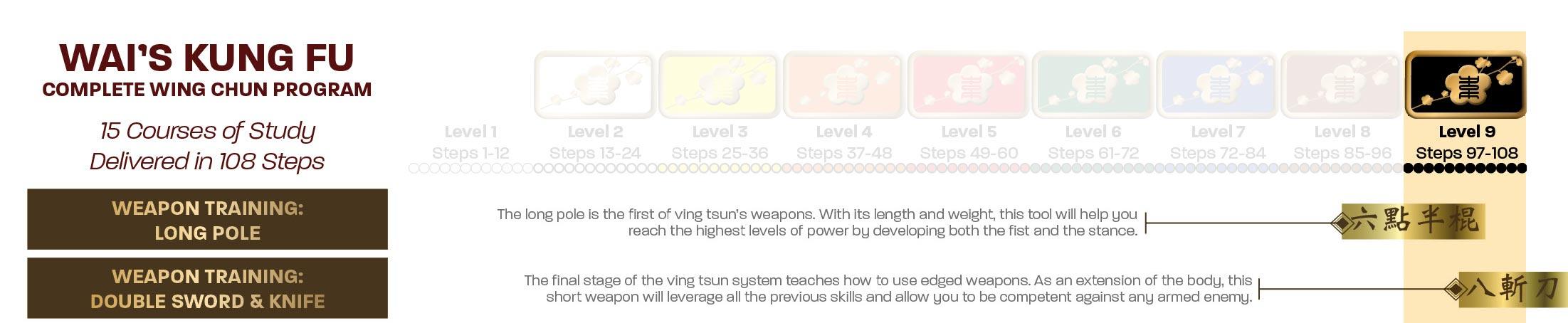 Level 9 Courses