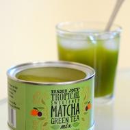 Tropical Sweetened Matcha Green Tea Mix from Trader Joe's