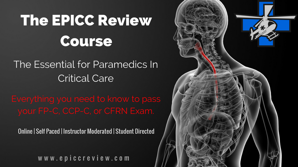 Essentials for Paramedics In Critical Care Review Course