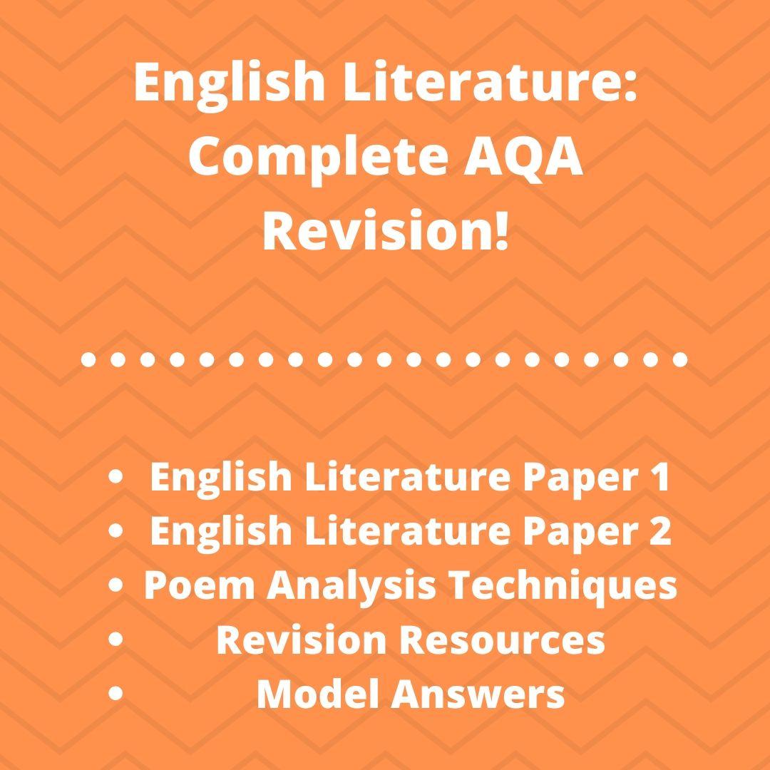 English Literature Course