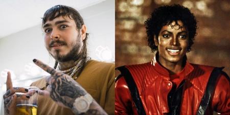 Post Malone unseats Michael Jackson from Billboard's Top R&B/Hip-Hop Albums Chart