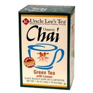 Organic Chai Green Tea with Lemon from Uncle Lee's Tea