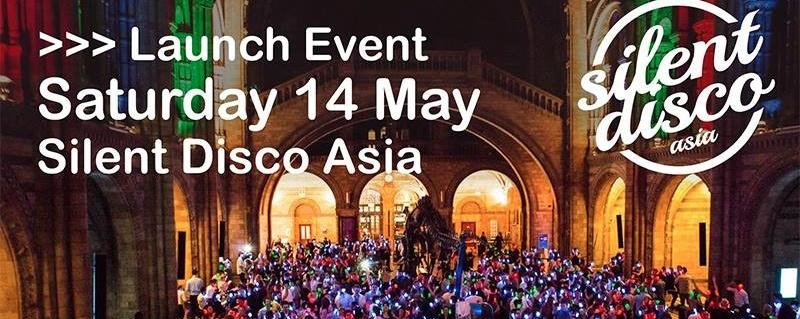 Silent Disco Asia - Launch Event