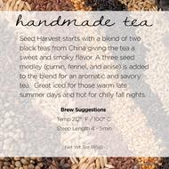 Seed Harvest from Handmade Tea