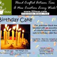 Birthday Cake from 52teas
