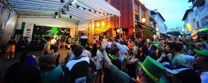 Babushka live at St Patrick's Street festival