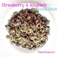 Strawberry & Rhubarb {Oolong Blend} from iHeartTeas