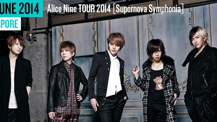 Alice Nine TOUR 2014 [Supernova Symphonia]