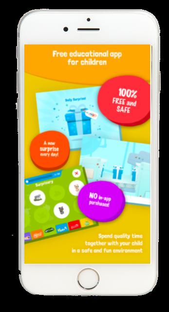 Mobile Games App screen