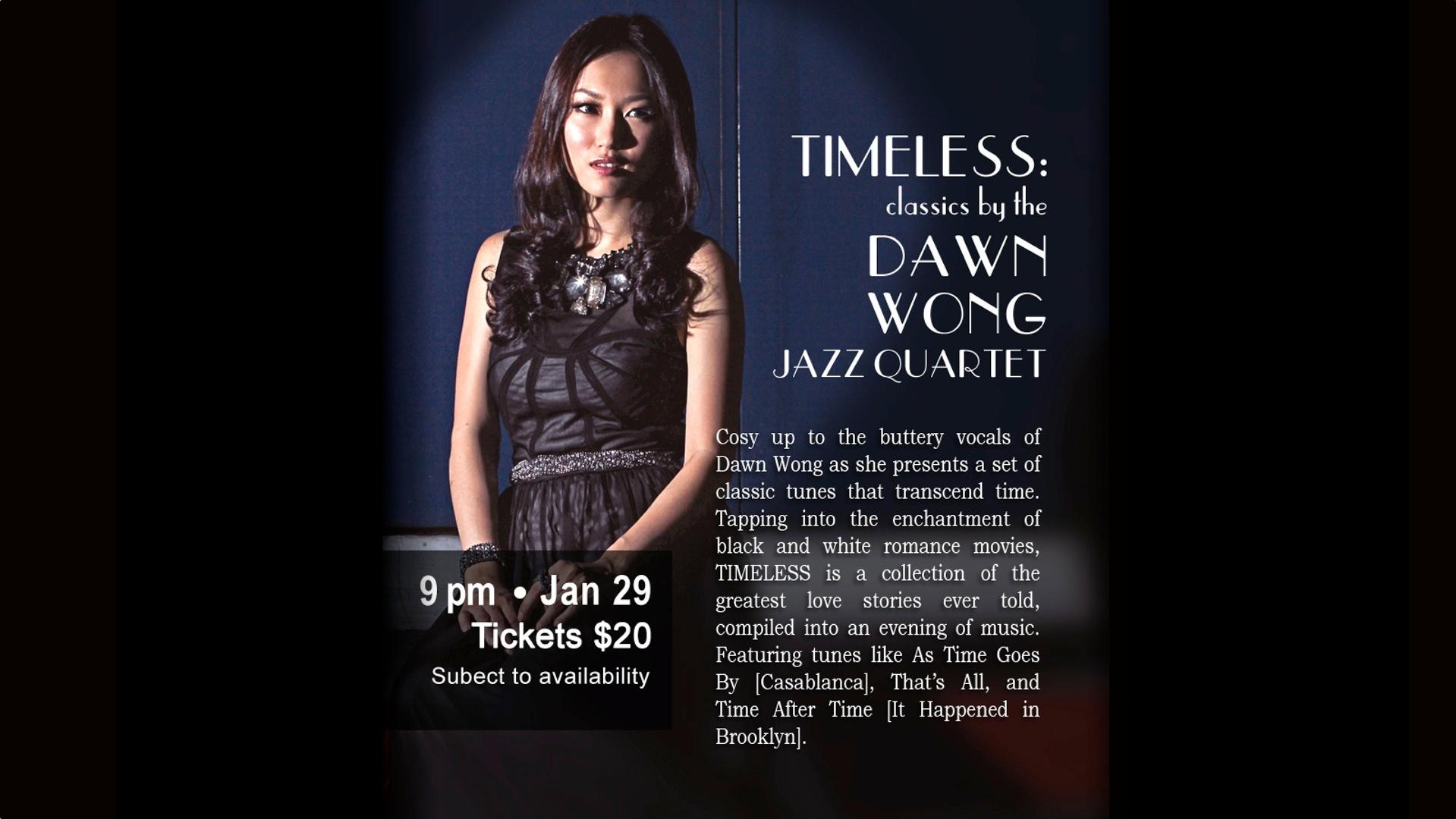 Dawn Wong Jazz Quartet