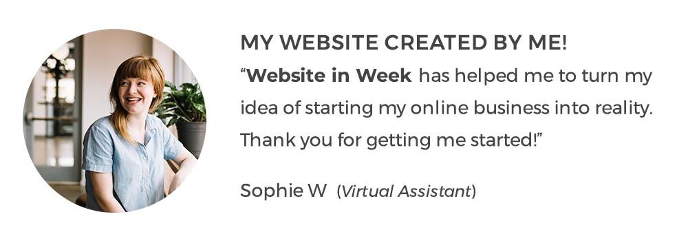 Website in Week with WordPress  AnitaM