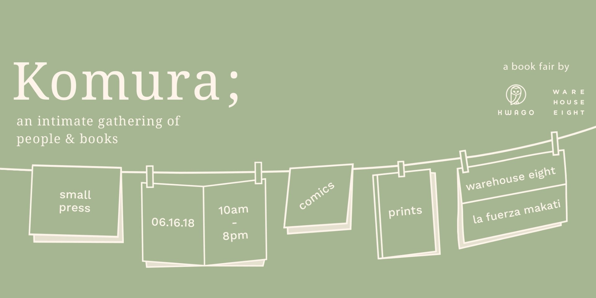 Explore a new form of storytelling at the Komura; book fair this weekend