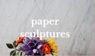 florabeane paper sculptures