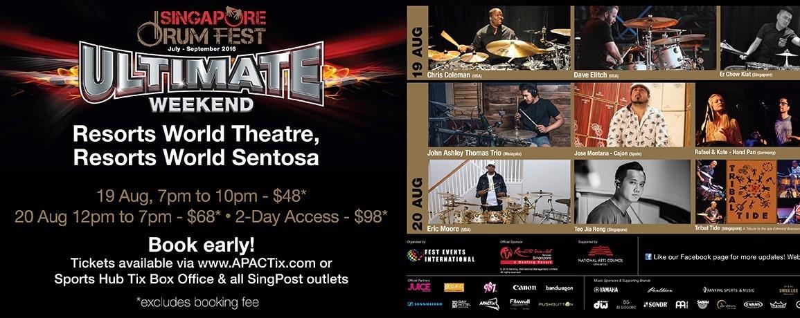 Singapore Drum Fest: Ultimate Weekend