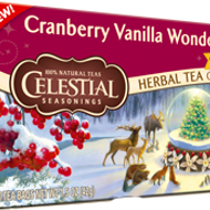 Cranberry Vanilla Wonderland from Celestial Seasonings