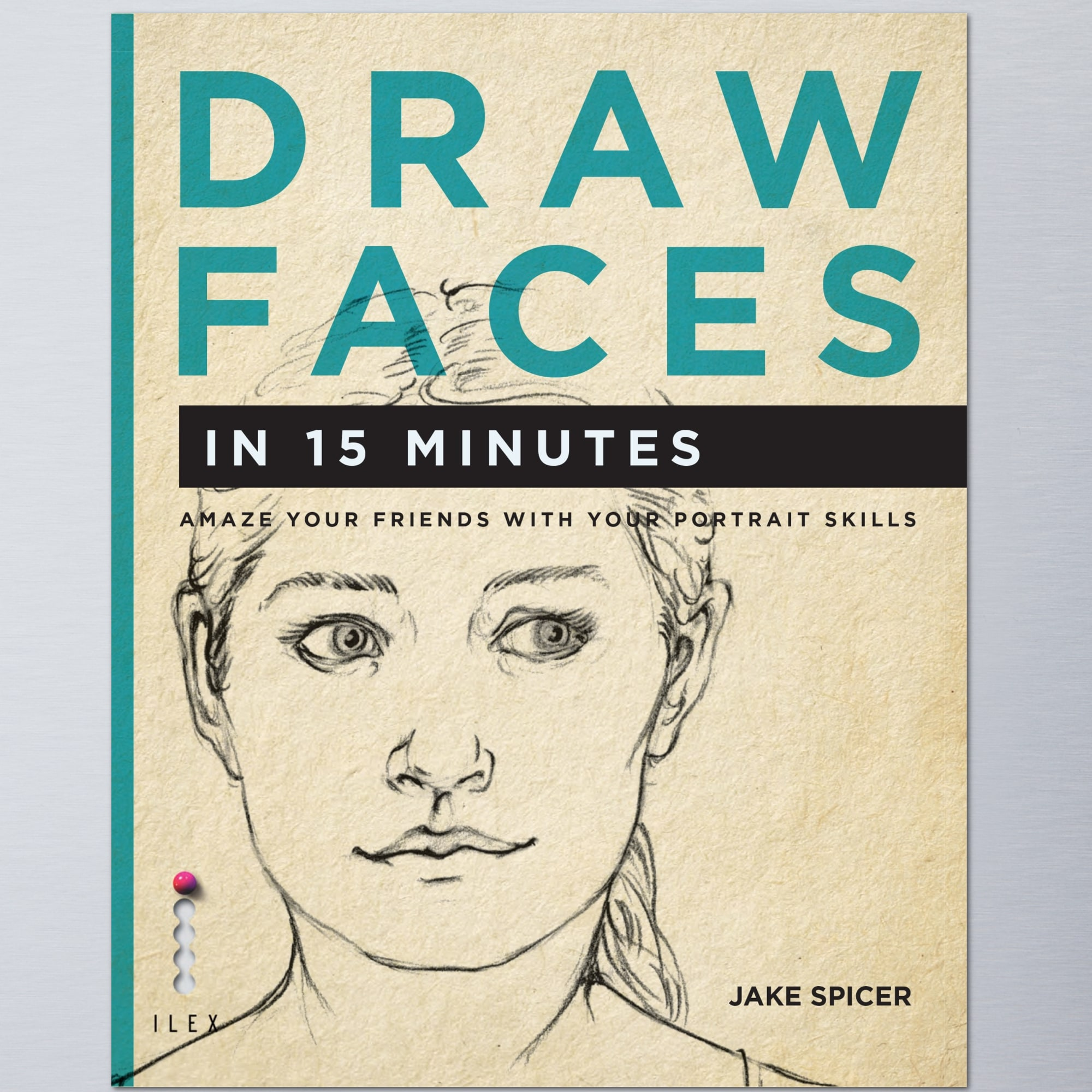DRAW FACES book -  how to draw course with Jake Spicer on Yodomo