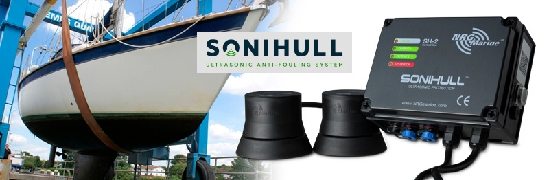 Sonihull ultrasonic antioufling system