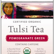 Tulsi Pomegranate Green Tea from Organic India