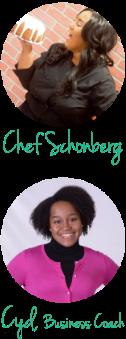 Profile image of Amanda Schonberg & Cydni N. Mitchell, Sweet Fest