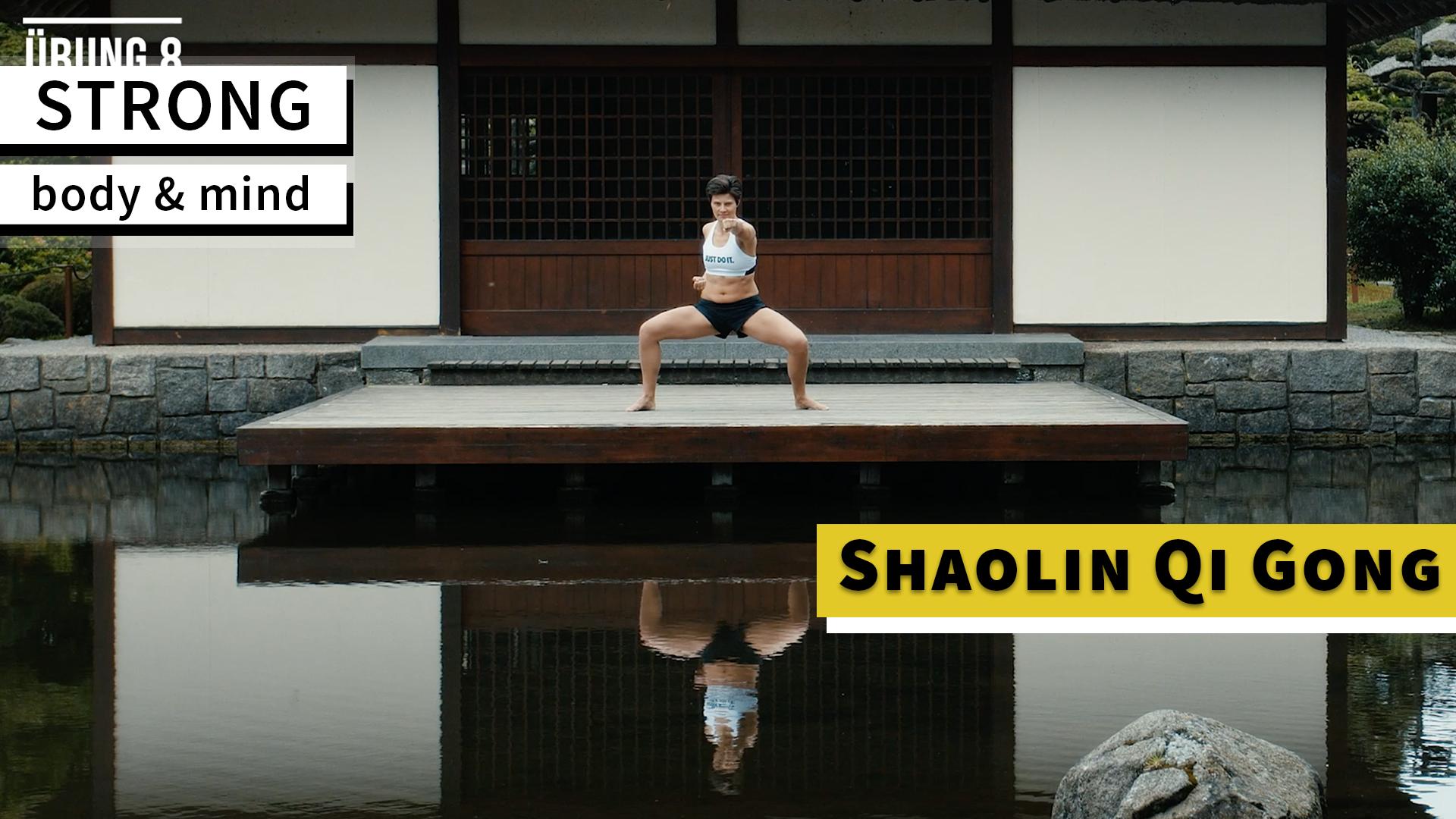 Shaolin Qi Gong in a calming scenery
