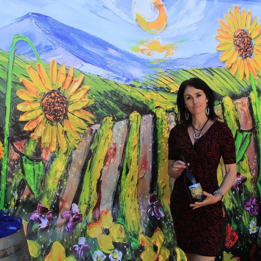 Lisa Elley Art Vineyard Collaboration
