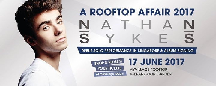 A Rooftop Affair 2017 - Nathan Sykes LIVE in Singapore