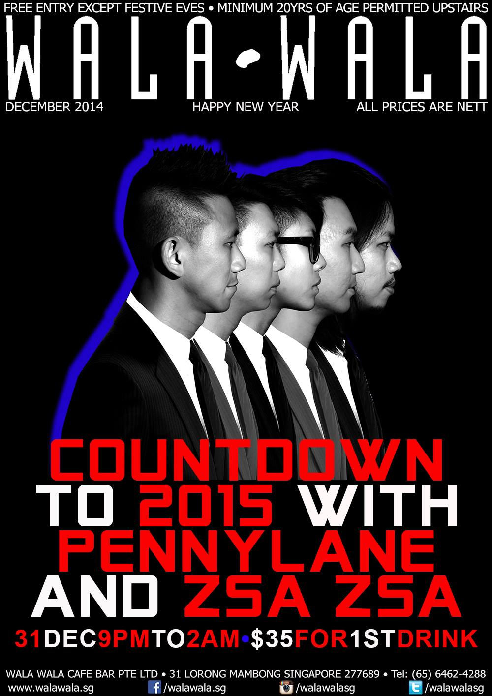 Countdown to 2015 with Pennylane and Zsa Zsa