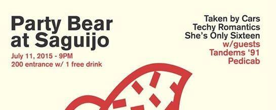Party Bear at Saguijo