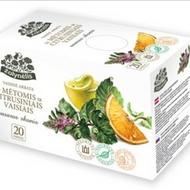 Vaisine arbata su metomis ir citrusiniais vaisiais vasaros skonis from Žolynélis
