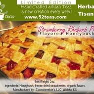 Strawberry Rhubarb Pie Honeybush from 52teas