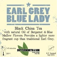 EARL GREY BLUE LADY from Butterworth and Son