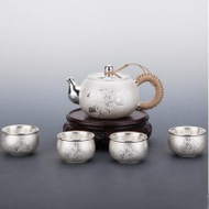 Chinese silver teapot ST02 from Naturalpuerh