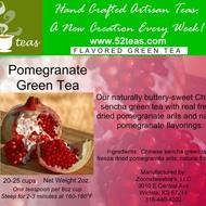 Pomegranate Green Tea from 52teas