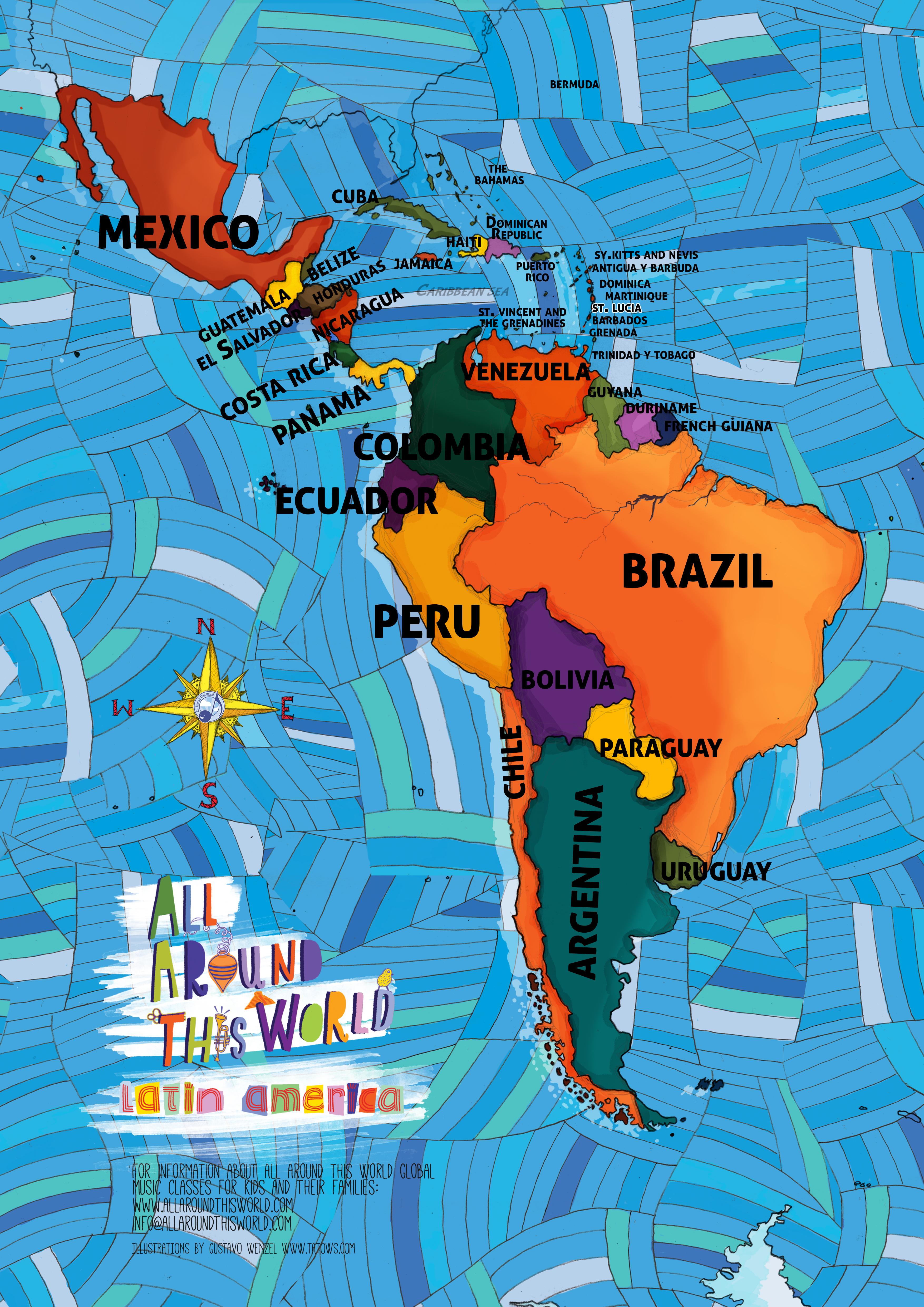 Latin America -- All Around This World