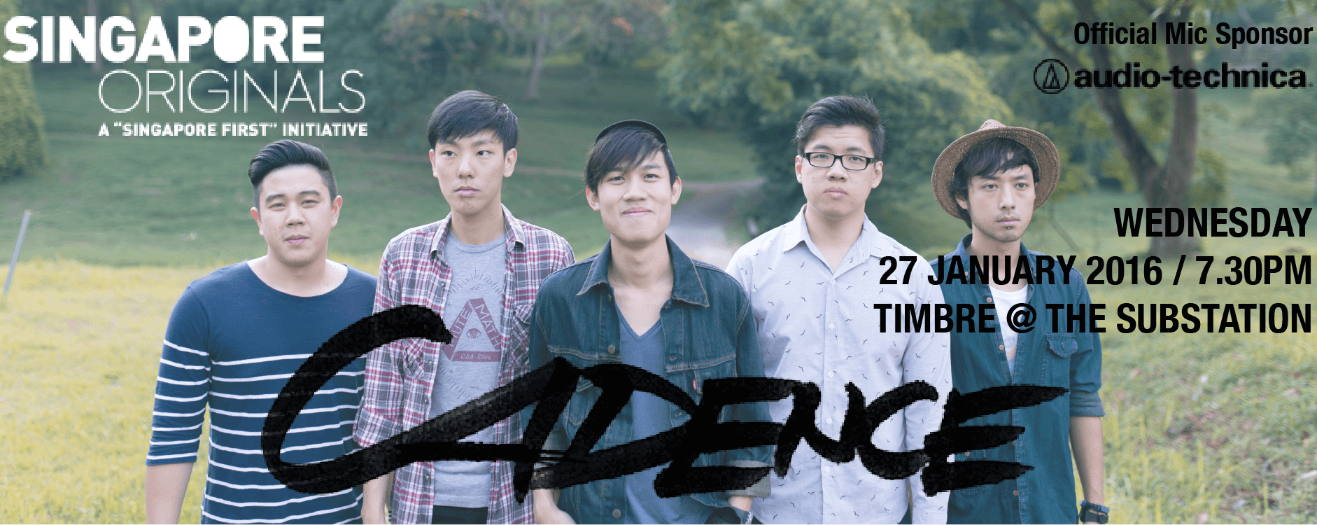 TIMBRE MUSIC PRESENTS SINGAPORE ORIGINALS: CADENCE