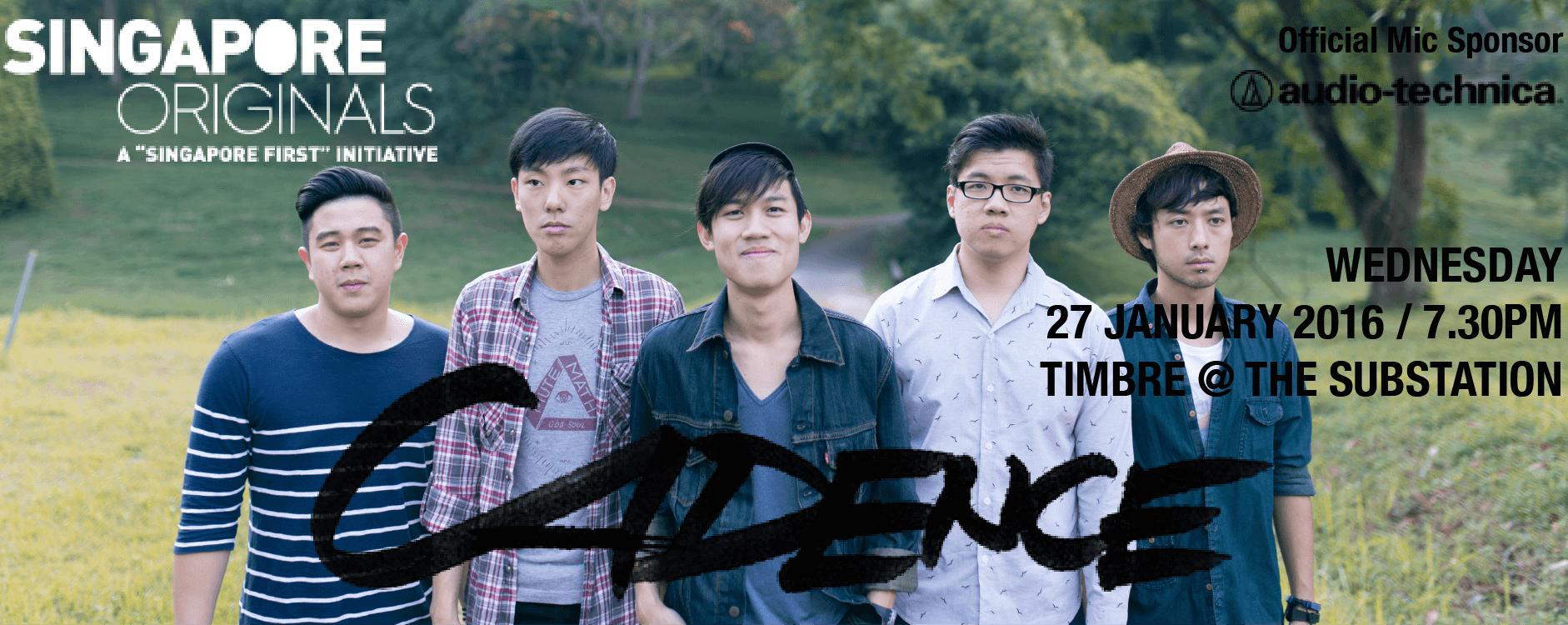 TIMBRE MUSIC PRESENTS SINGAPORE ORIGINALS: CADENCE