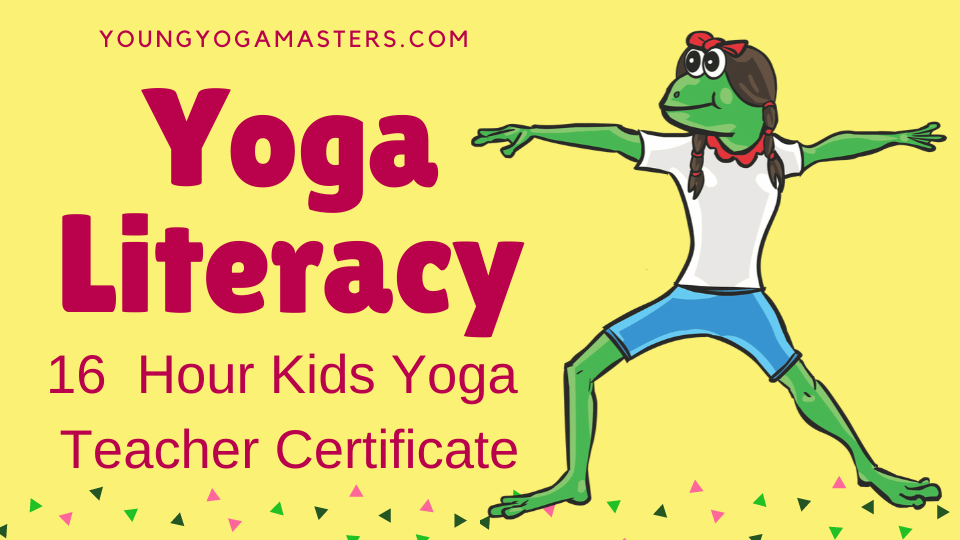 Kids Yoga teacher training and certification with the yoga alphabet