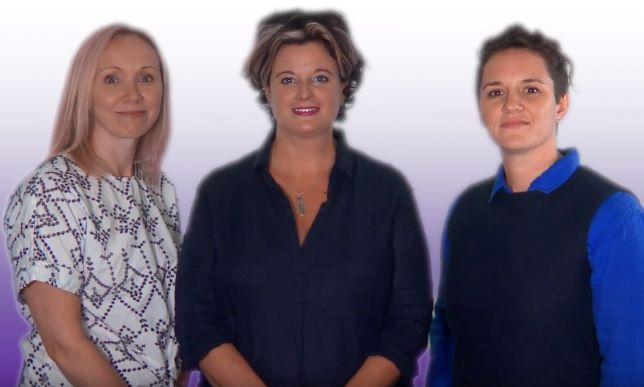 Anna, Nicola & Deborah