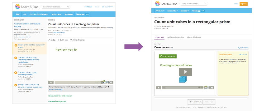 Important Changes For Learnzillion Users Learnzillion