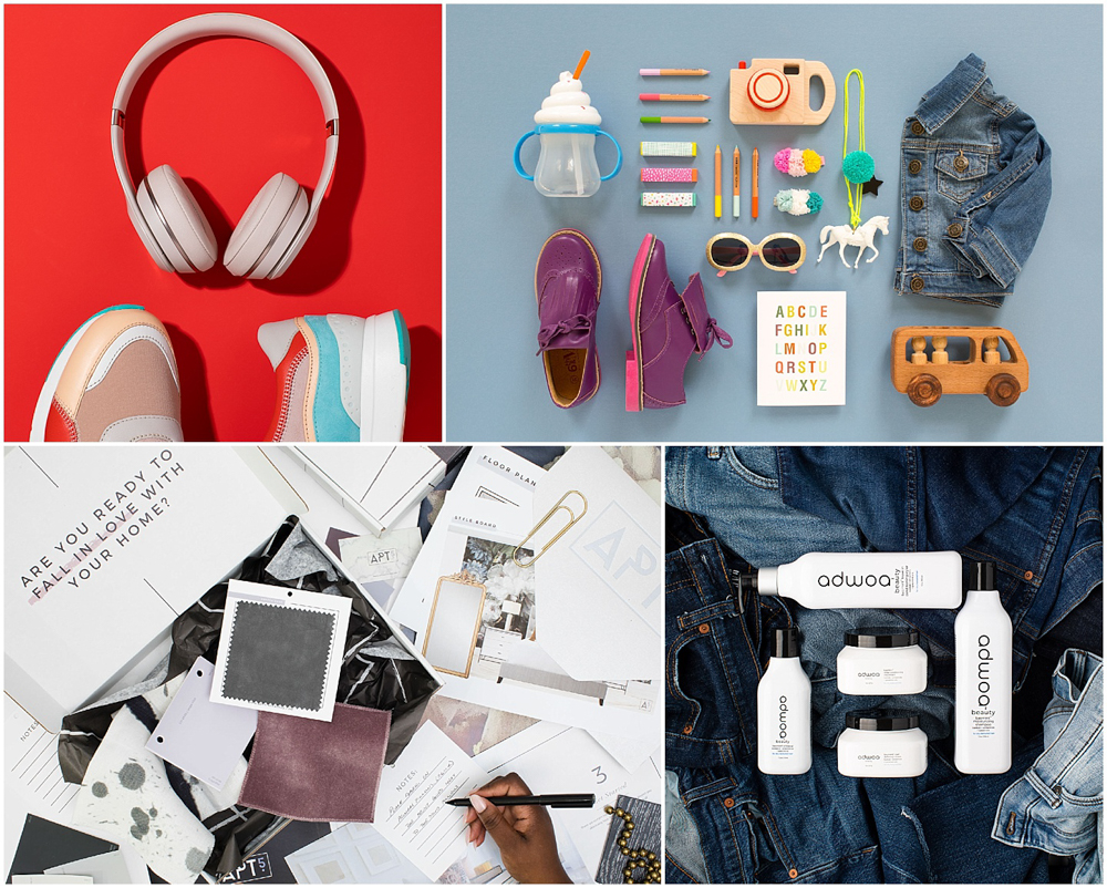 flat lay images by Kimberly Murray