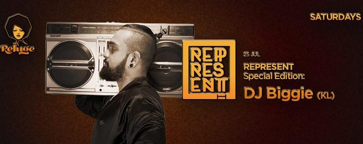 Represent feat. DJ Biggie